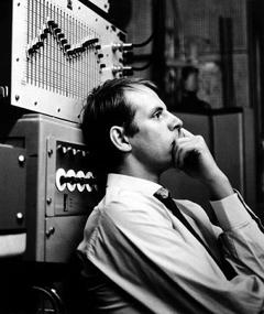 Photo of Karlheinz Stockhausen
