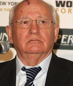 Photo of Mikhail Gorbachev