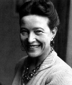 Photo of Simone de Beauvoir