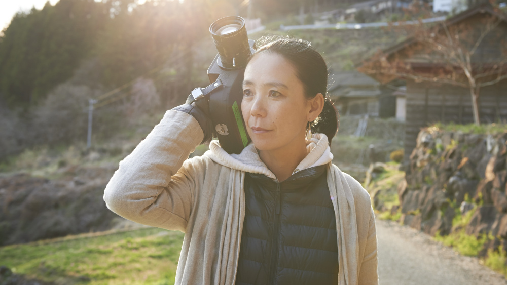 A diretora japonesa Naomi Kawase