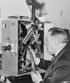 Photo of G.W. Bitzer