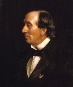 Photo of Hans Christian Andersen