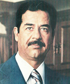 Photo of Saddam Hussein