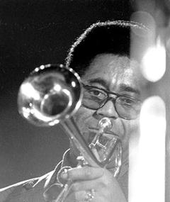 Photo of Dizzy Gillespie