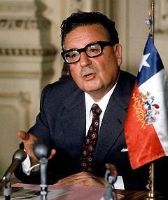 Photo of Salvador Allende