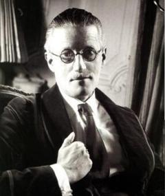 Photo of James Joyce