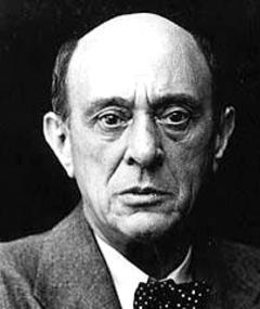 Foto di Arnold Schoenberg