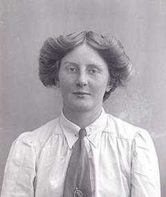 Photo of Miss Marsh