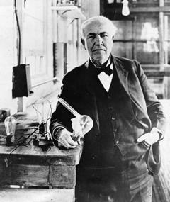 Gambar Thomas A. Edison