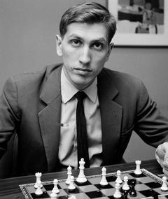 Foto van Bobby Fischer