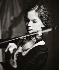 Photo of Hilary Hahn