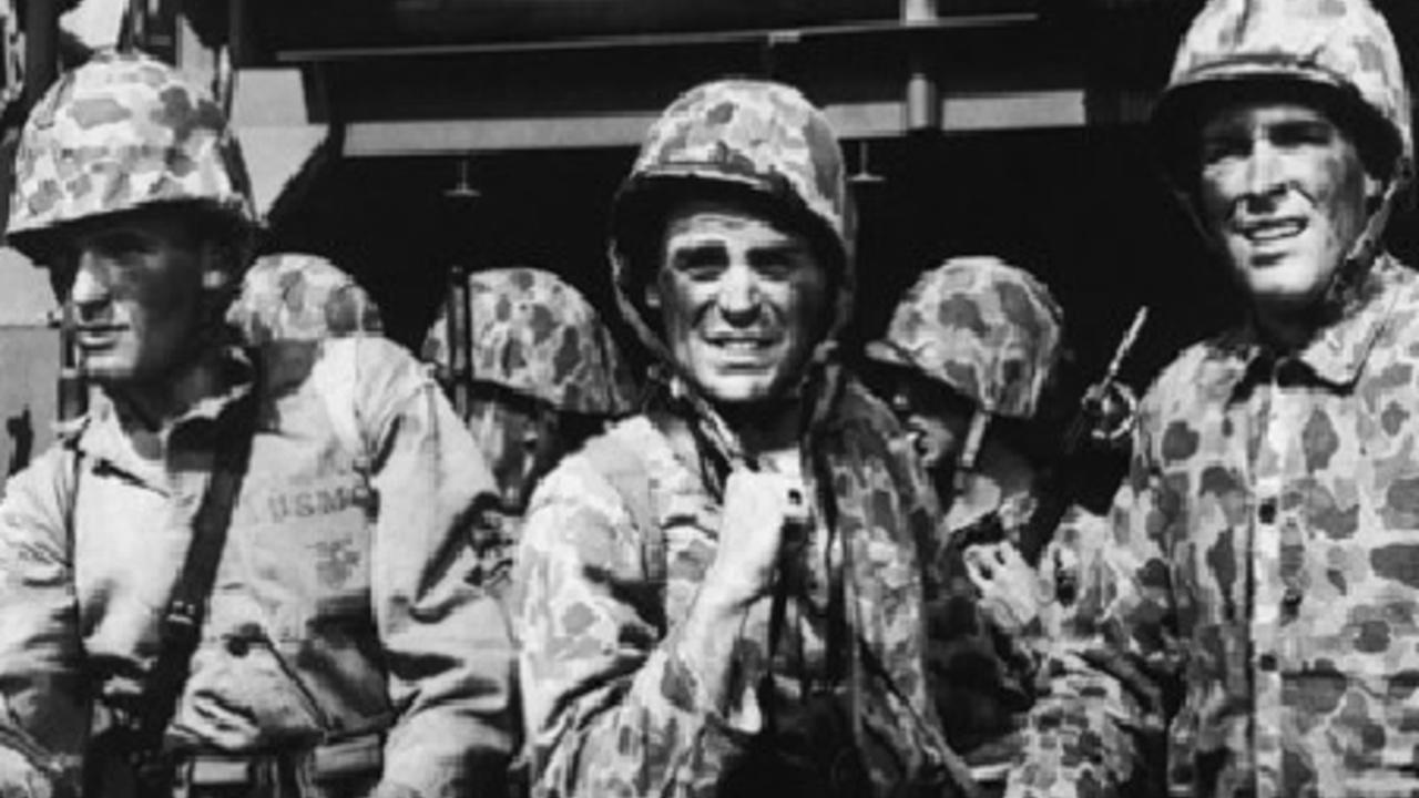 War Movie : Tarawa Beachhead 1958 ( Full Movie )