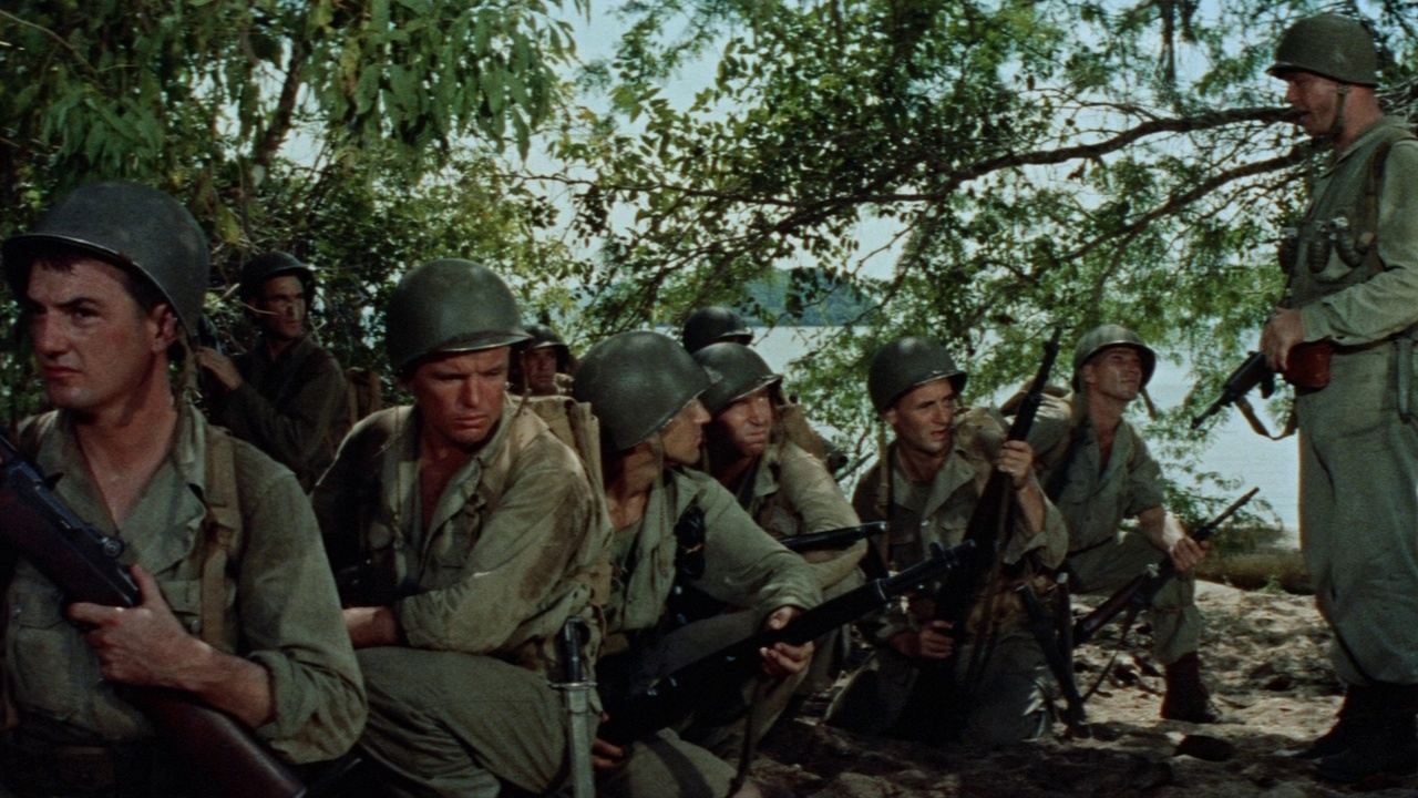 War Movie : The Naked and the Dead (1958)