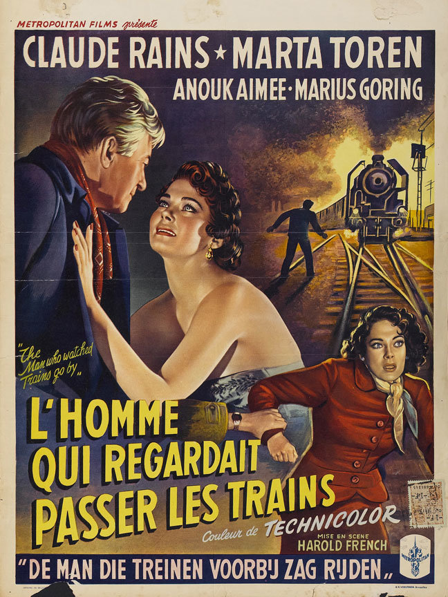 The Man Who Watched Trains go By poster