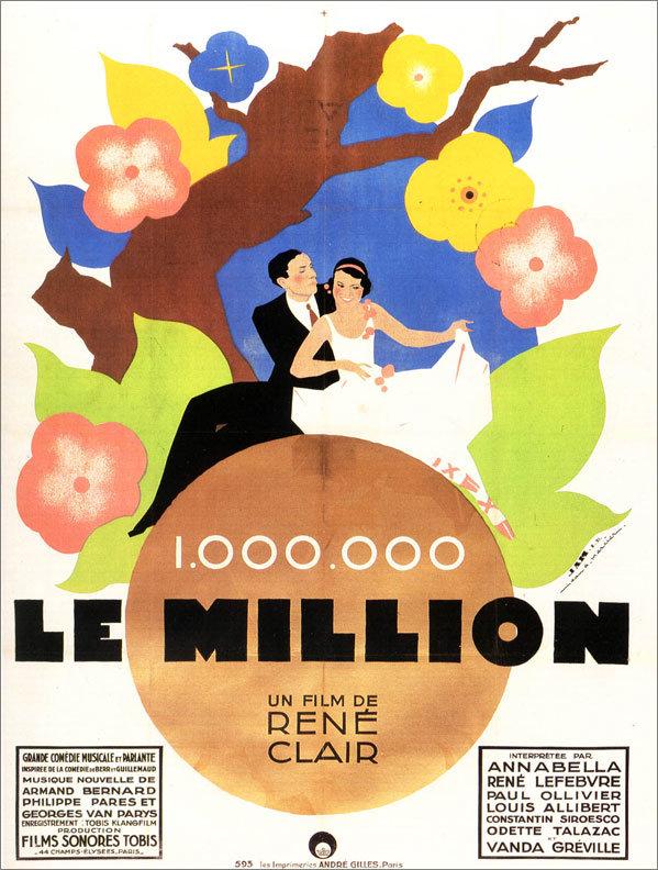 Le million poster