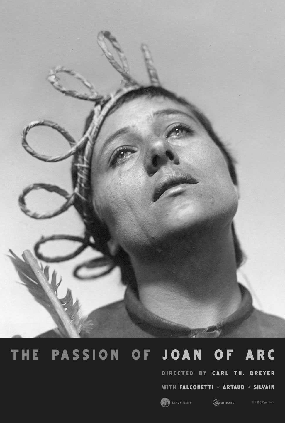 """Movie Poster of the Week: Carl Th. Dreyer's """"The Passion of Joan of Arc"""" on  Notebook 