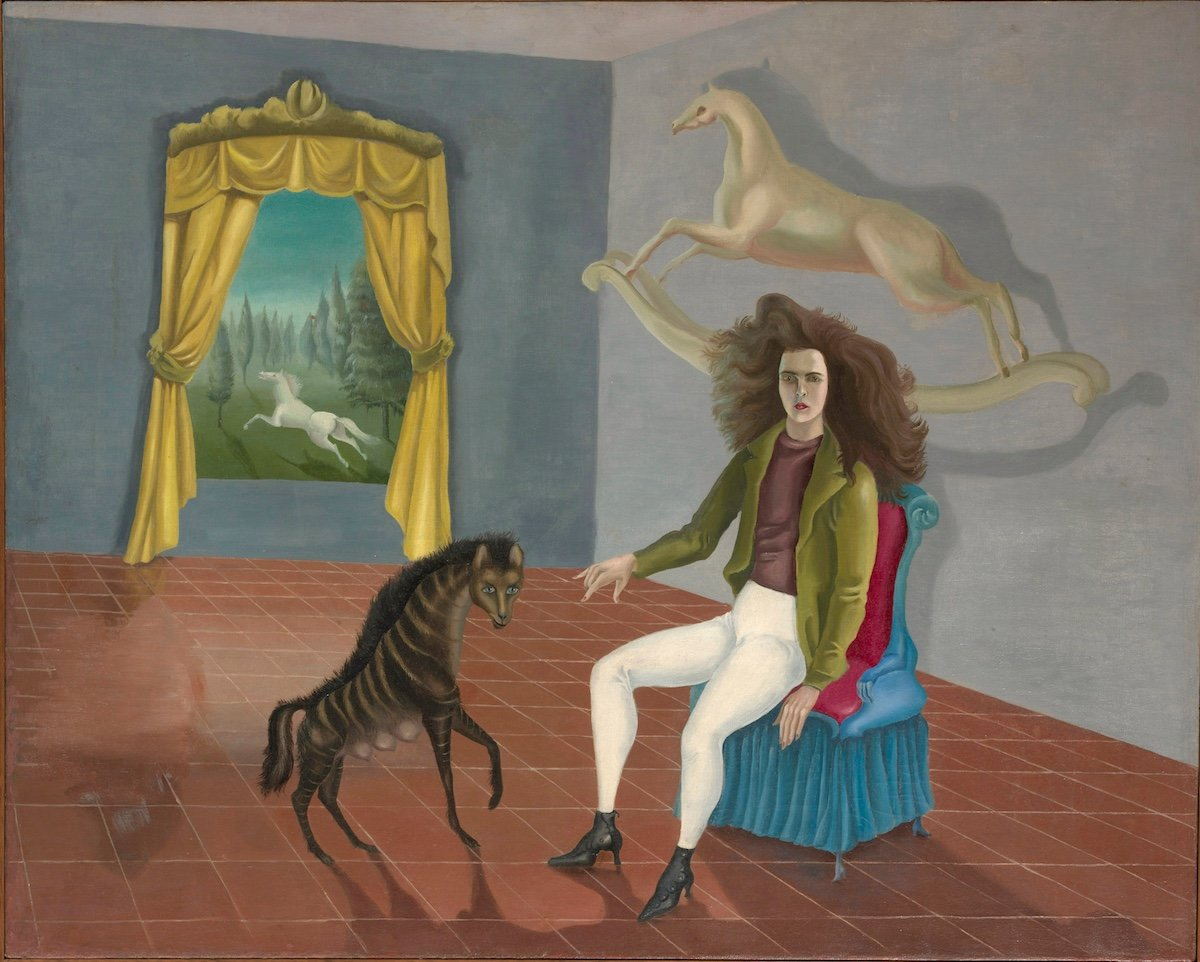 Leonora Carrington Self Portrait
