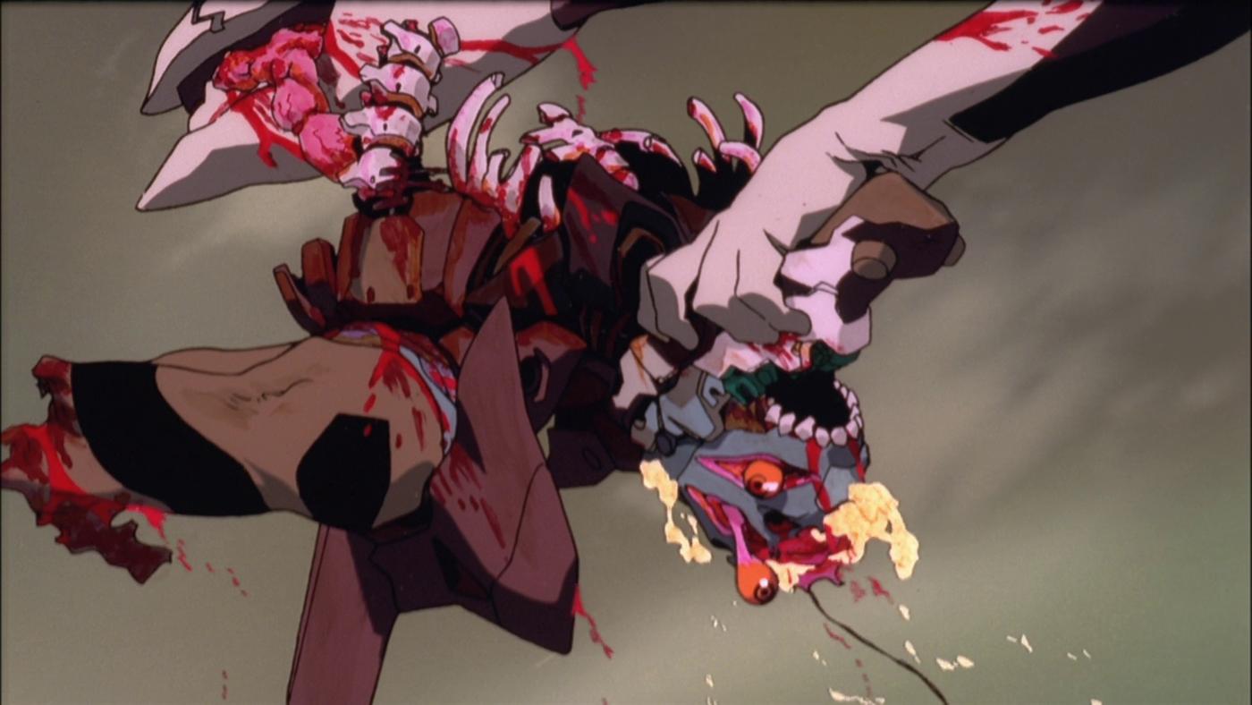 Neon Genesis Evangelion The End Of Evangelion Tumbling Down On Notebook Mubi