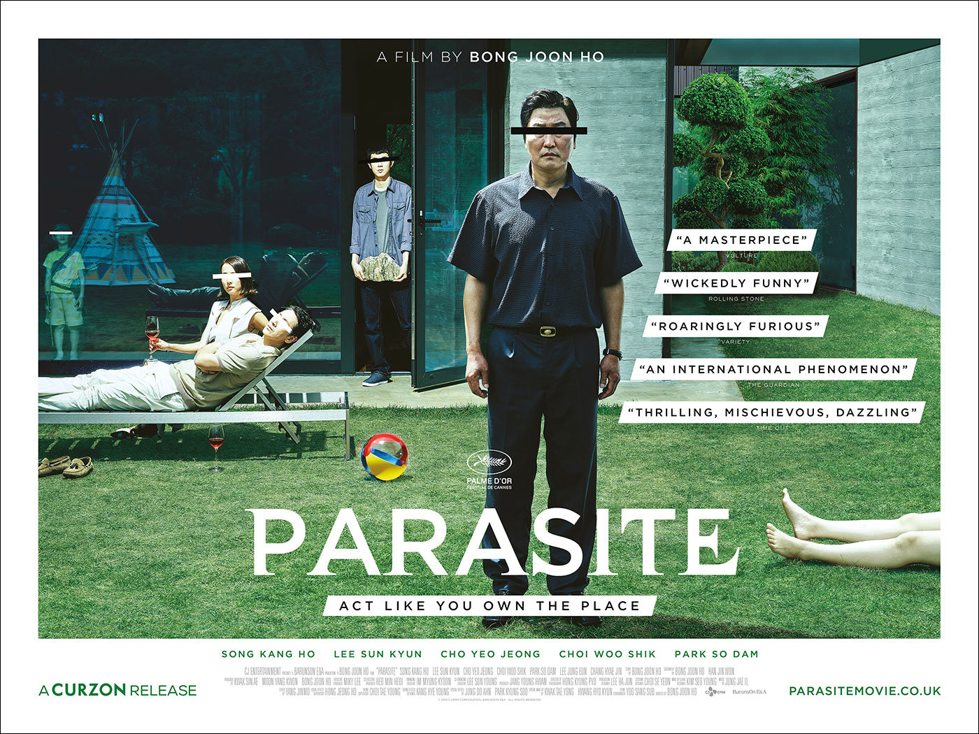 "Movie Poster of the Week: The Posters of ""Parasite"" on Notebook 