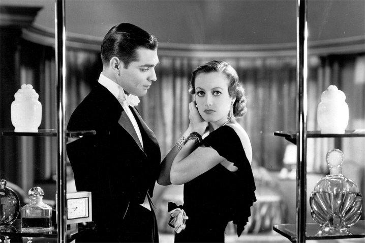 Clark Gable and Joan Crawford in Possessed