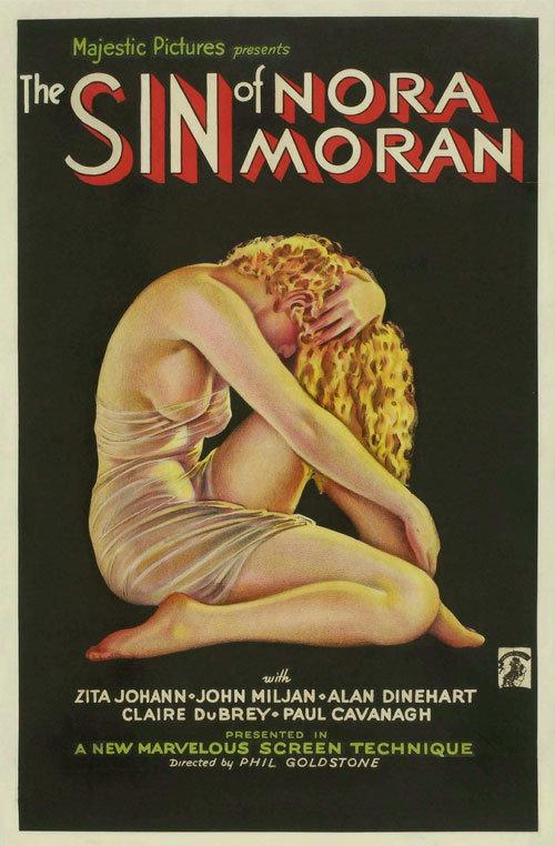 The Sin of Nora Moran poster