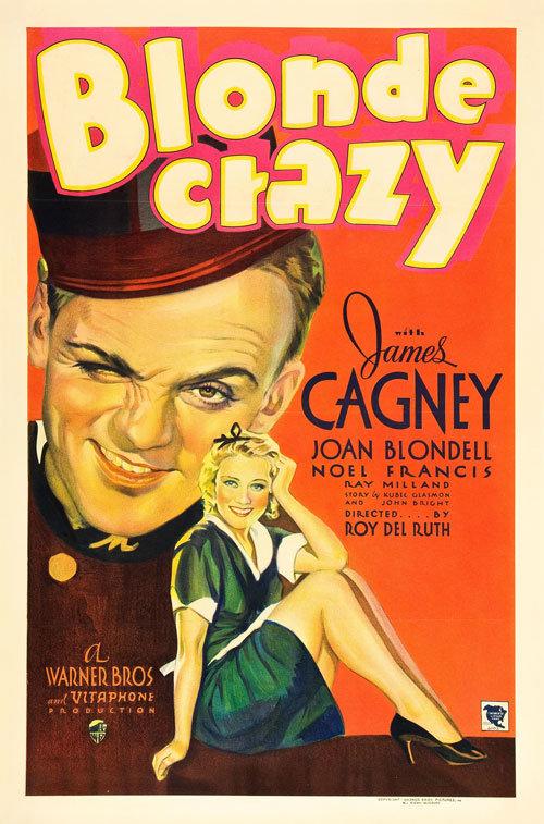 Blonde Crazy Poster