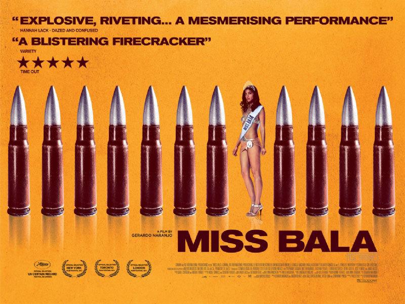 Miss Bala movie poster