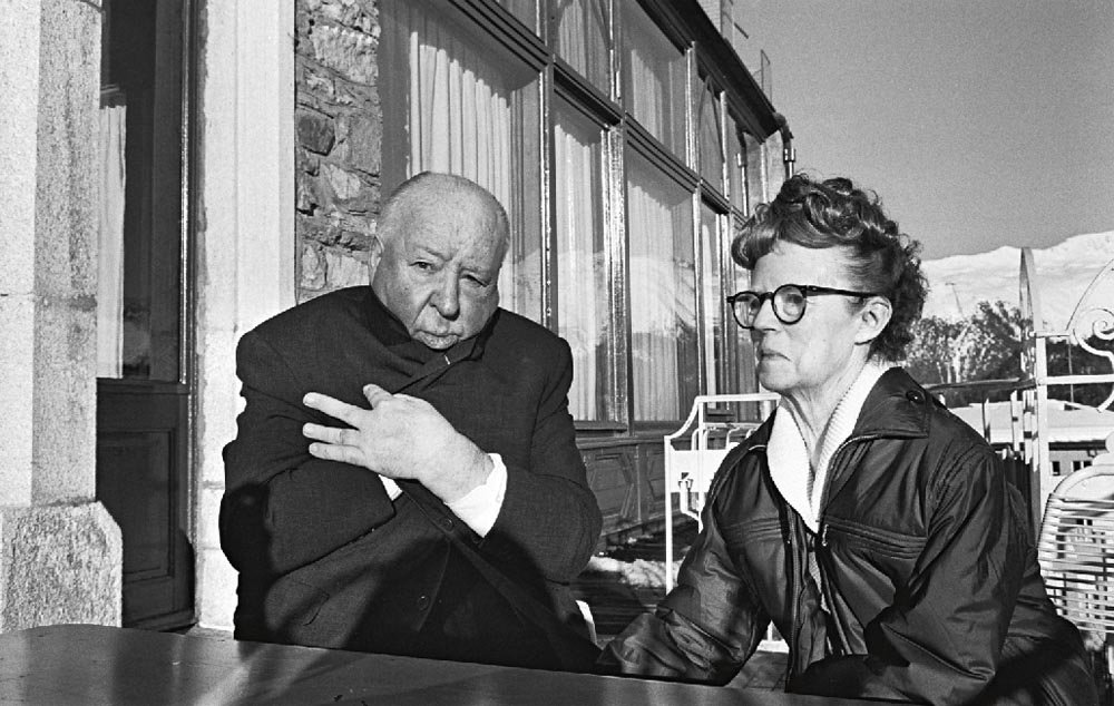Alfred Hitchcock and Alma Reville