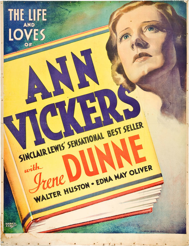 Anne Vickers poster