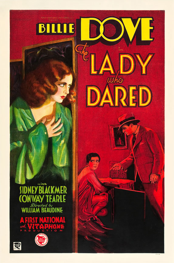 The Lady Who Dared poster