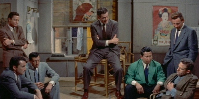 """image of the Review: Samuel Fuller's """"House of Bamboo"""" (1955)"""