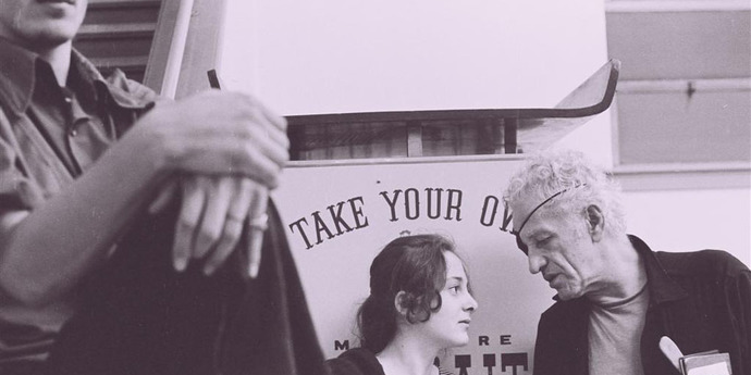"""image of the Venice 2011. Nicholas Ray's """"We Can't Go Home Again"""""""