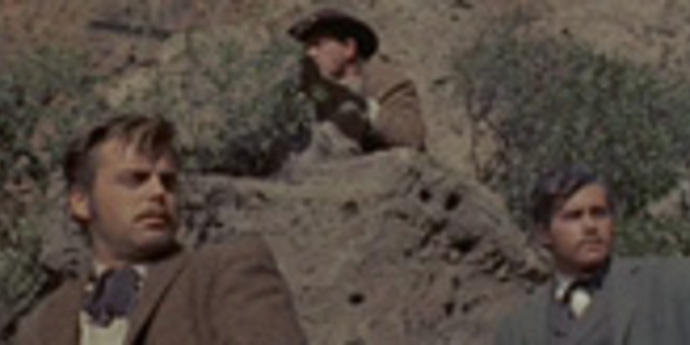 """image of the Isolation on the Frontier: """"The Lusty Men"""" and """"The True Story of Jesse James"""""""