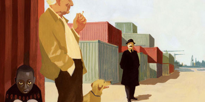 """image of the Movie Poster of the Week: """"Le Havre"""""""