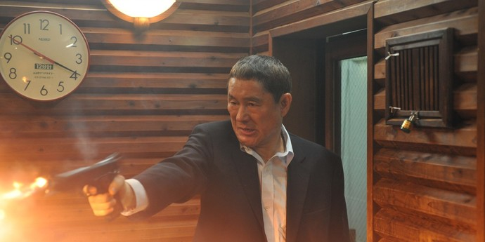 """image of the Review: Takeshi Kitano's """"Outrage"""""""