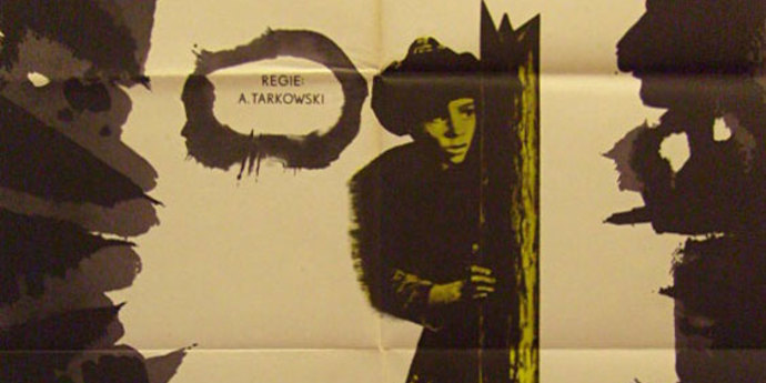 """image of the Movie Poster of the Week: """"Ivan's Childhood"""" and the films of Andrei Tarkovsky"""
