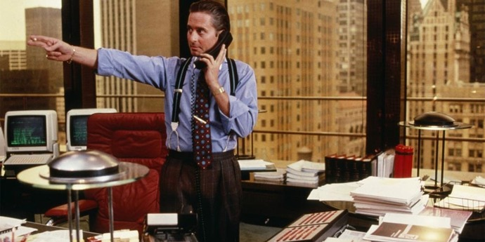 image of the Daily Briefing. Hoberman on Gekko and the Stooges