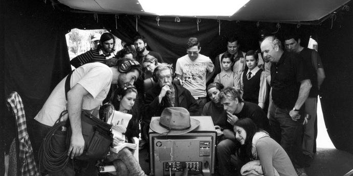 """image of the Raúl Ruiz on """"La noche de enfrente"""", François Margolin on Raúl Ruiz"""