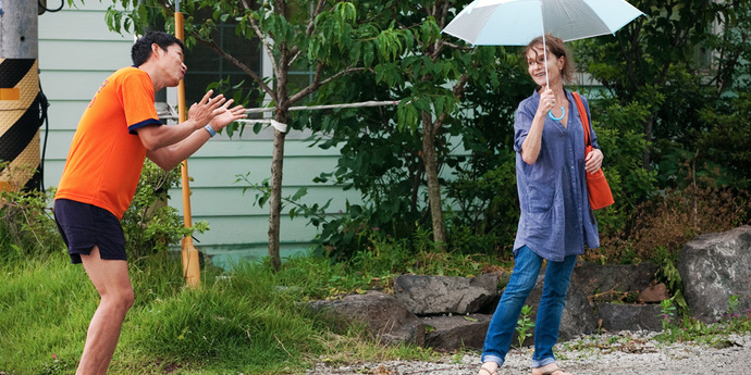 """image of the Review: Hong Sang-soo's """"In Another Country"""""""