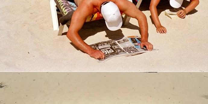 image of the Critical Strands: On the Beach with Ulrich Seidl and Martin Parr