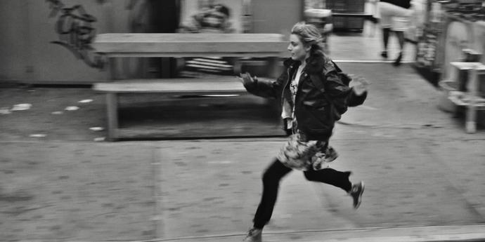 "image of the Bounding 'Round Town: Noah Baumbach & Greta Gerwig's ""Frances Ha"""