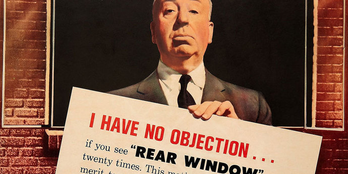 """image of the Movie Poster of the Week: """"Rear Window"""" and Other Posters That Tell Too Much"""