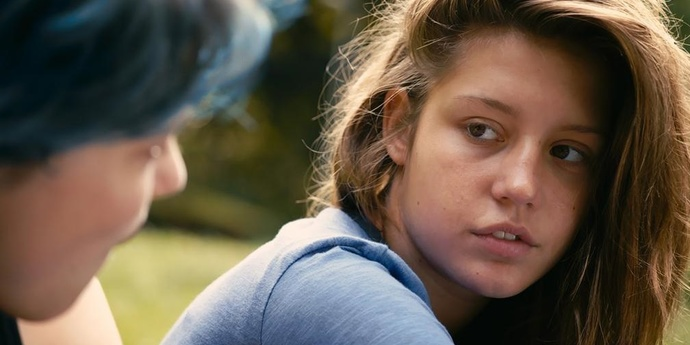 """image of the """"Blue is the Warmest Color"""", A Dissent"""