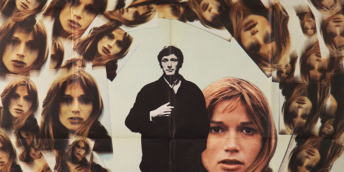 """image of the Movie Poster of the Week: Alain Resnais' """"Je t'aime, je t'aime"""""""