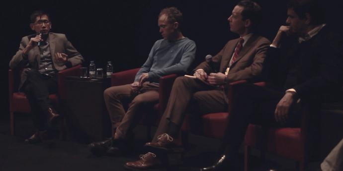 image of the Harvard at the Gulbenkian. Cinema Dialogues 1.1