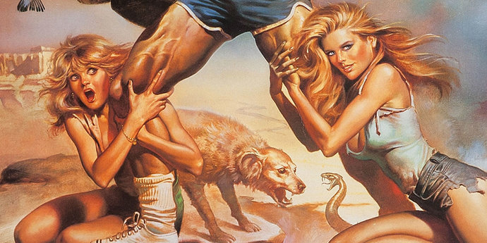 """image of the Movie Poster of the Week: """"National Lampoon's Vacation"""" and the Posters of Boris Vallejo"""