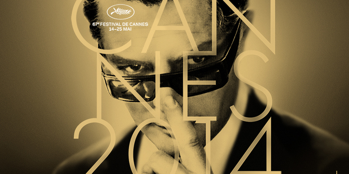 image of the Cannes 2014. Poster Unveiled