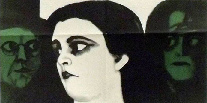 """image of the Movie Poster of the Week: """"The Cabinet of Dr. Caligari"""" and the Posters of Karl Oskar Blase"""