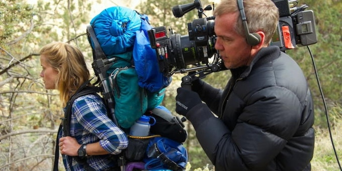 """image of the Jean-Marc Vallée and """"Wild"""""""