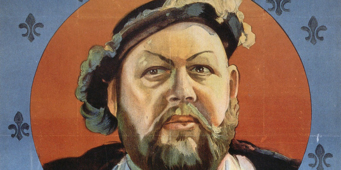 """image of the Movie Poster of the Week: """"The Private Life of Henry VIII"""" and Charles Laughton in Posters"""